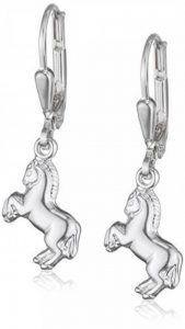 Teenie-Weenie Boucles d'oreilles - boucles d'oreilles cheval - argent sterling 925 pour enfants - SDO583J de la marque Teenie-Weenie image 0 produit