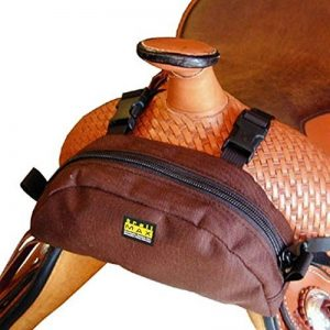 trailMAX - Sacoche de pommeau western - marron de la marque TrailMax image 0 produit