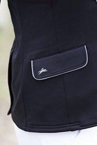 Veste concours soft classic - Couleurs - Noir, Taille Française - Dame 34 de la marque EQUITHEME image 0 produit