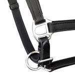 vidaXL Licol Licou en cuir réglable pour cheval Licol pour écurie Marron / Noir de la marque vidaXL image 1 produit