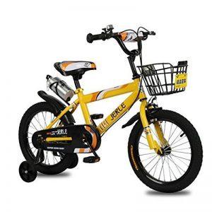 Vélo Guo shop- Bicyclette pour enfants, bébé 2-3-4-6 ans garçon 12-18 pouces bébé poussette (Couleur : Le jaune, taille : 12 pouces) de la marque Vélo image 0 produit