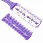 Zhichengbosi pour chien ou chat tondeuse à cheveux Peigne de coupe avec 2rasoir (Violet) de la marque Zhichengbosi image 3 produit